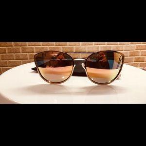 Quay Australia Rose Gold Sunglasses